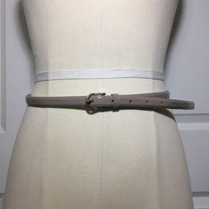 EUC J.Crew Patent Leather Skinny Belt
